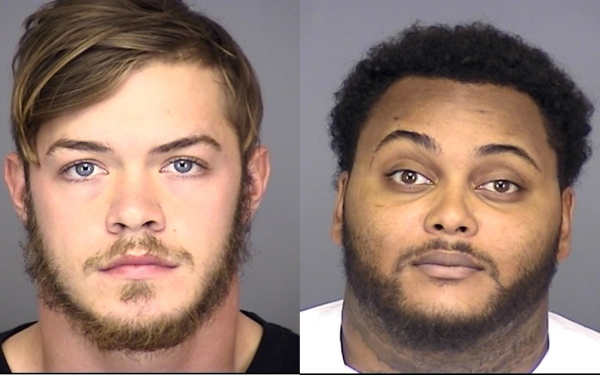 Two arrested after home invasion
