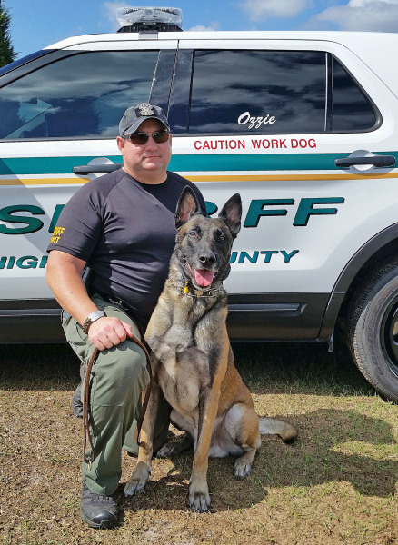 HCSO K-9, Sebring Police team up to catch burglary suspects