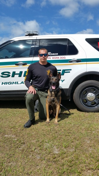 Two arrested after vehicle, foot and K-9 pursuits