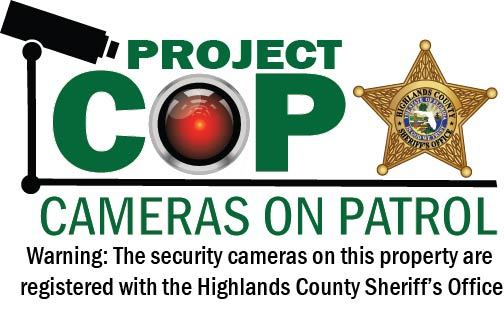 From the Sheriff: Project COP will help us solve crimes