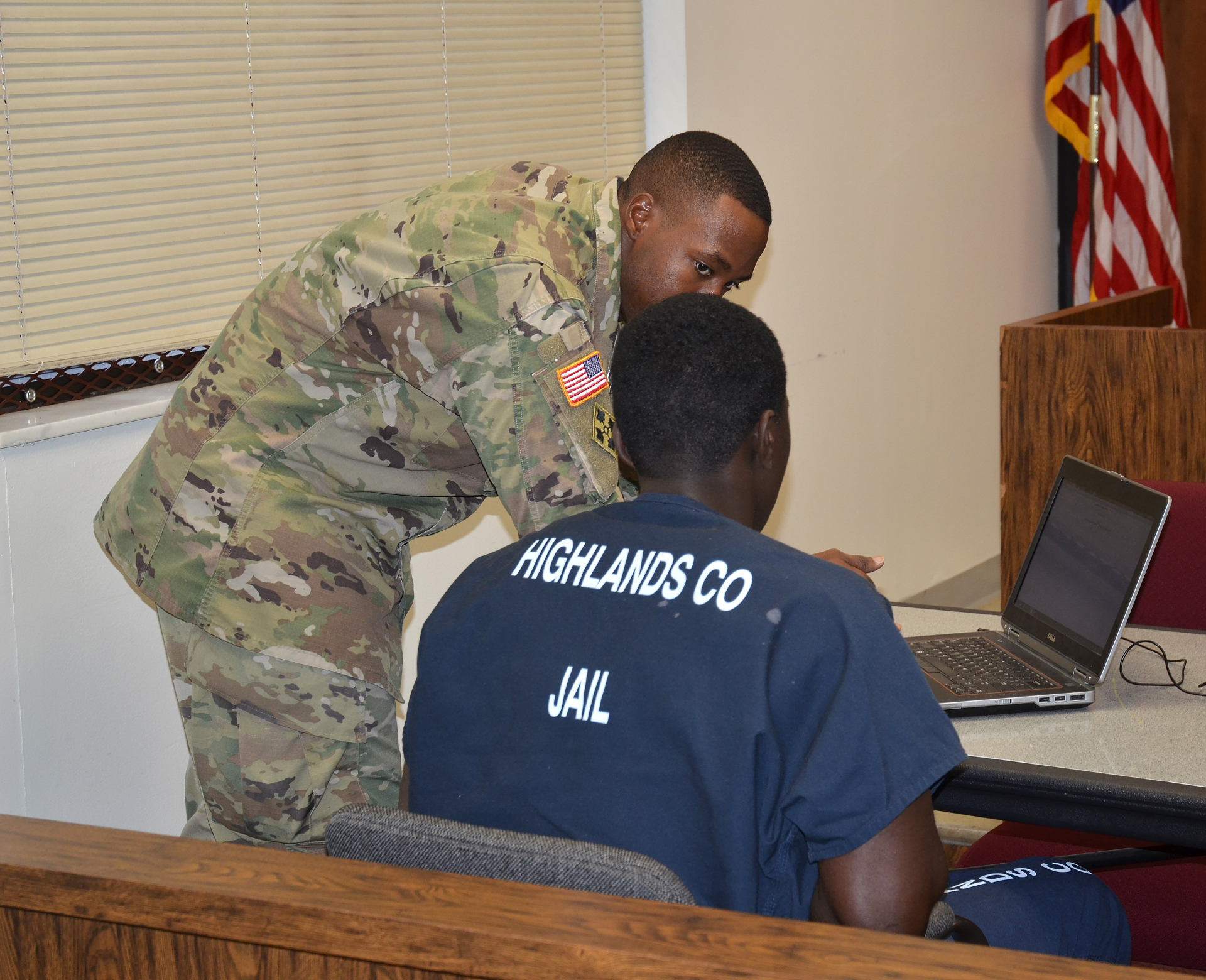 New program aims to help inmates become soldiers