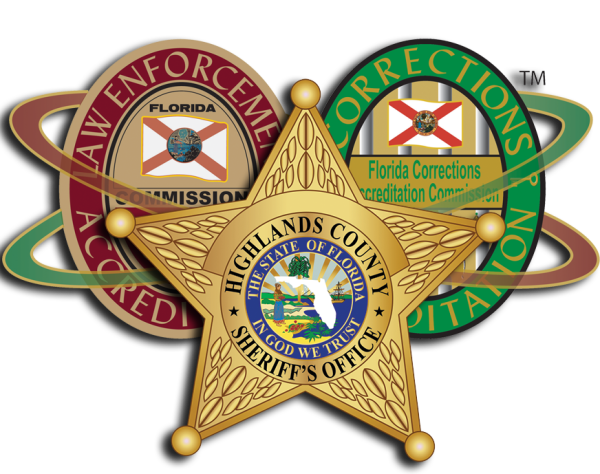 Picture of HCSO star and accreditation seals